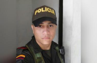 Patrullero Cesar Chávez asesinado en mayo de 2017 presuntamente por alias Niche.