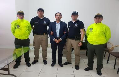 El exfiscal Gustavo Moreno antes de ser extraditado a Estados Unidos.