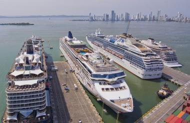Terminal de cruceros de Cartagena.