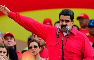 Nicolás Maduro Moros, presidente de la República Bolivariana de Venezuela.