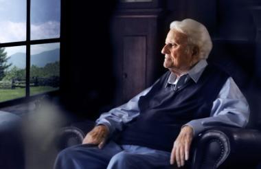 Billy Graham era llamado 'el predicador de América' por los sermones multitudinarios que protagonizaba.