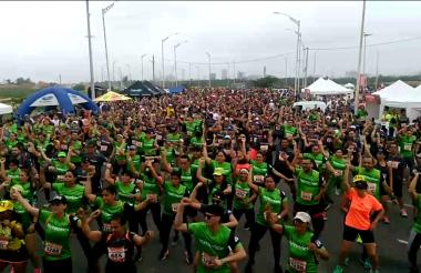 Un total de 1.517 personas se inscribieron para participar en la competencia organizada por Bodytech.