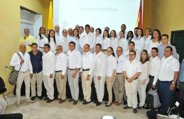 Gabinete de Quinto Guerra, alcalde de Cartagena.