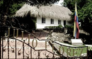 Casa Museo Julio Flórez, del municipio de Usiacurí.
