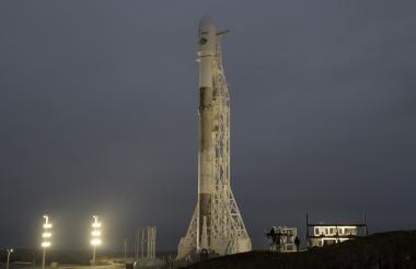 Lanzamiento del cohete  reutilizable 'Falcon 9'.