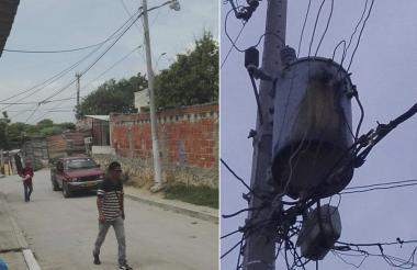 En el Por Fin hay oscilación de voltaje y en Santo Domingo un transformador tiene fallas.