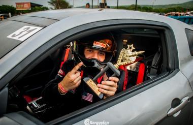 El piloto barranquillero Fernando Esmeral Jr.