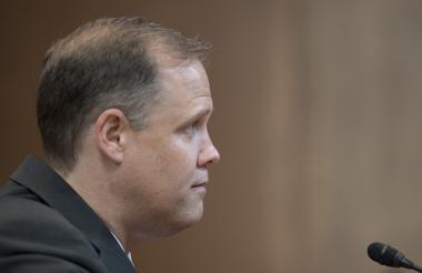Jim Bridenstine, administrador de la Nasa designado el pasado abril.