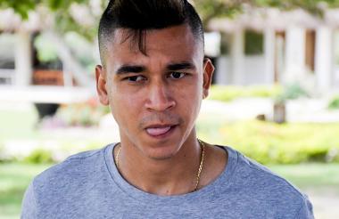 Víctor Cantillo, volante magdalenense de 24 años.