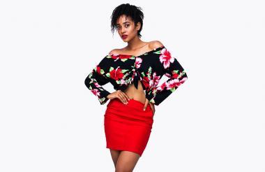 Sary Simanca, modelo de la agencia y escuela Estudio 10.