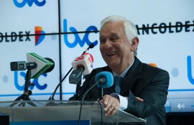 Mario Suárez Melo, presidente de Bancóldex.
