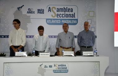 Rodolfo Anaya, Bruce Mac Master, Eduardo Verano y Alberto Vives.