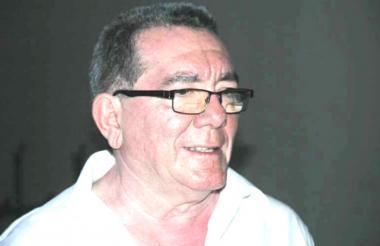 Ernesto Berrío, presidente de la Liga de Lucha del Atlántico.