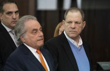 Harvey Weinstein en la audiencia de este viernes.