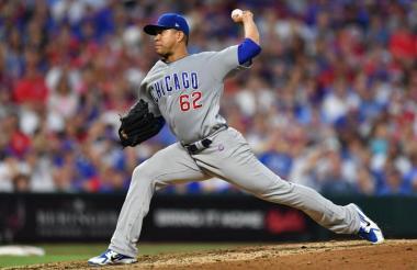 Quintana, lanzador de los Cachorros de Chicago.