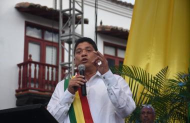 Quinto Guerra, alcalde de Cartagena.
