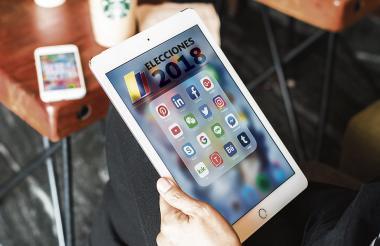 La actividad que más realizan los colombianos en la web es estar en las redes sociales, según el estudio.