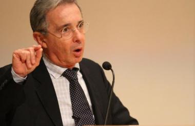Álvaro Uribe, expresidente y senador de Colombia.