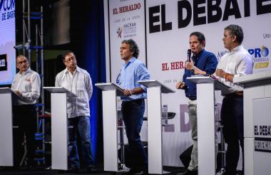 El debate organizado por EL HERALDO fue el más alabado por las redes.