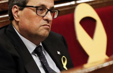 Quim Torra, presidente de Cataluña.