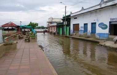 Ayapel ha sufrido en años anteriores inundaciones por el aumento en los niveles de la Ciénaga.
