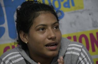 Solangie Ruiz Peñaloza contó su versión de los hechos ocurridos, en las instalaciones de EL HERALDO.