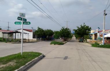La carrera 59 con calle 2, en Villa Olímpica, será uno de los sectores sin agua.