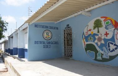 Colegio San Gabriel, sitio donde ocurrió el hecho.