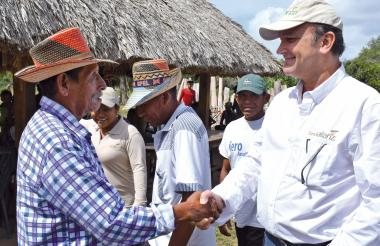 Fabián Daza A., director ejecutivo, ha liderado la implementación de proyectos de agricultura familiar y desarrollo comunitario.