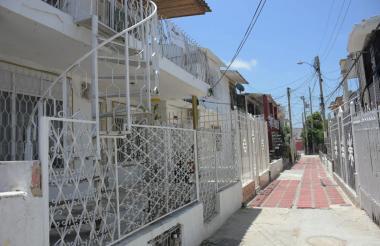 Casa del barrio Los Trupillos donde sucedió el atentado criminal.