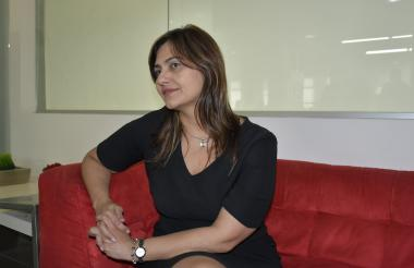 Claudia Da Cunha Tcachman, rectora de la Universidad Autónoma del Caribe.