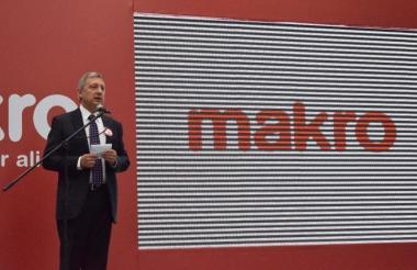 Enrique Tonzo, CEO de Makro Colombia.