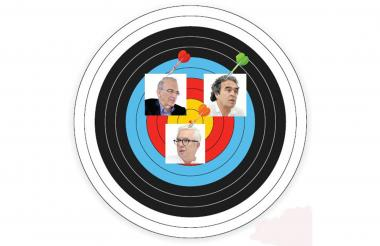 De la Calle, Fajardo y Robledo anunciaron su voto en blanco para la segunda vuelta.