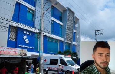 Antony Forero Torres murió en una clínica de Sincelejo.