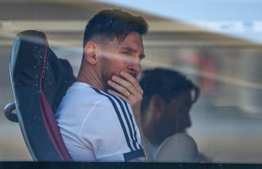 Lionel Messi, delantero argentino.