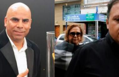 Mauricio 'Chicho' Serna,  María Santos Caballero y Sebastián Marroquín.