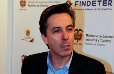 Roberto Prieto, jefe de campaña de Santos 2010.