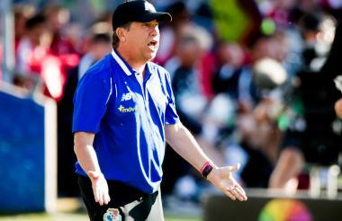Hernán Darío Gómez, director técnico de la selección panameña.