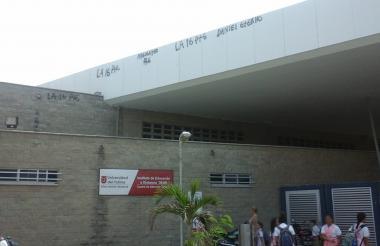 Este es el colegio Pies Descalzos en el corregimiento de La Playa.
