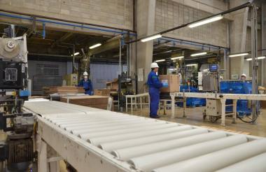 Empresa del sector industrial de Colombia.