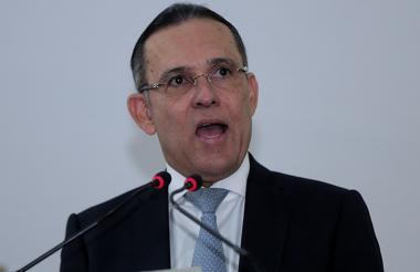 El presidente del Senado, Efraín Cepeda Sarabia.