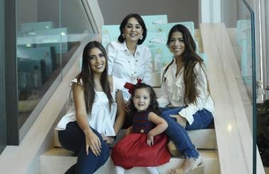Marcela, Martha, María Lourdes y Victoria lideran esta marca.