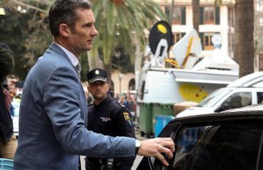 El exduque de Palma y marido de la infanta Cristina, Iñaki Urdangarin.
