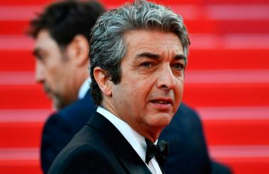 El actor argentino Ricardo Darín, en la alfombra roja del Festival de Cannes.