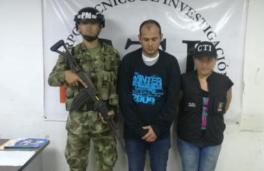Nelson Pinto Chaparro, señalado de abusar del menor de un año y 8 meses.