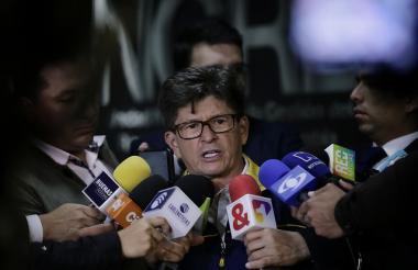 Carlos Iván Márquez, director de UNGRD durante la entrega del balance de la situación en Hidroituango.