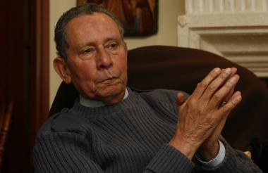 El gobernador de Magdalena, general (r) Manuel José Bonnet.