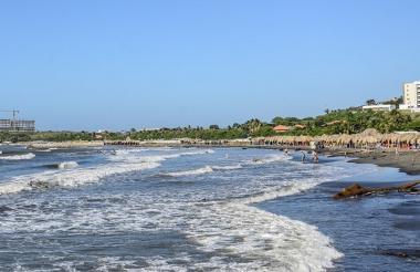 El Atlántico cuenta con playas ideales para disfrutar en compañía de familiares y amigos.