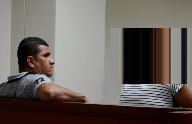 Luis Alfonso Arrieta Pérez en audiencia.