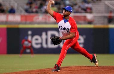 El lanzador derecho Freddy Asiel Álvarez.